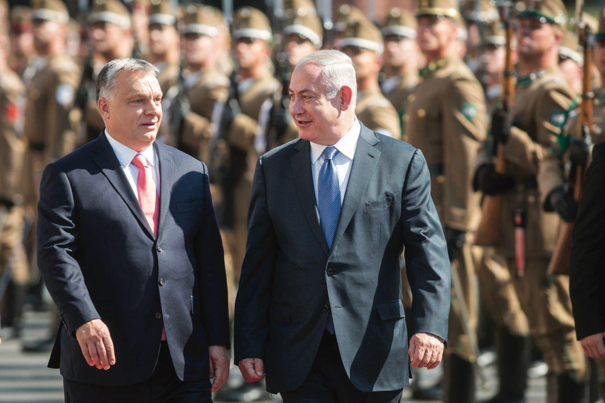 Orbán Viktor és Benjamin Netanjahu Budapesten