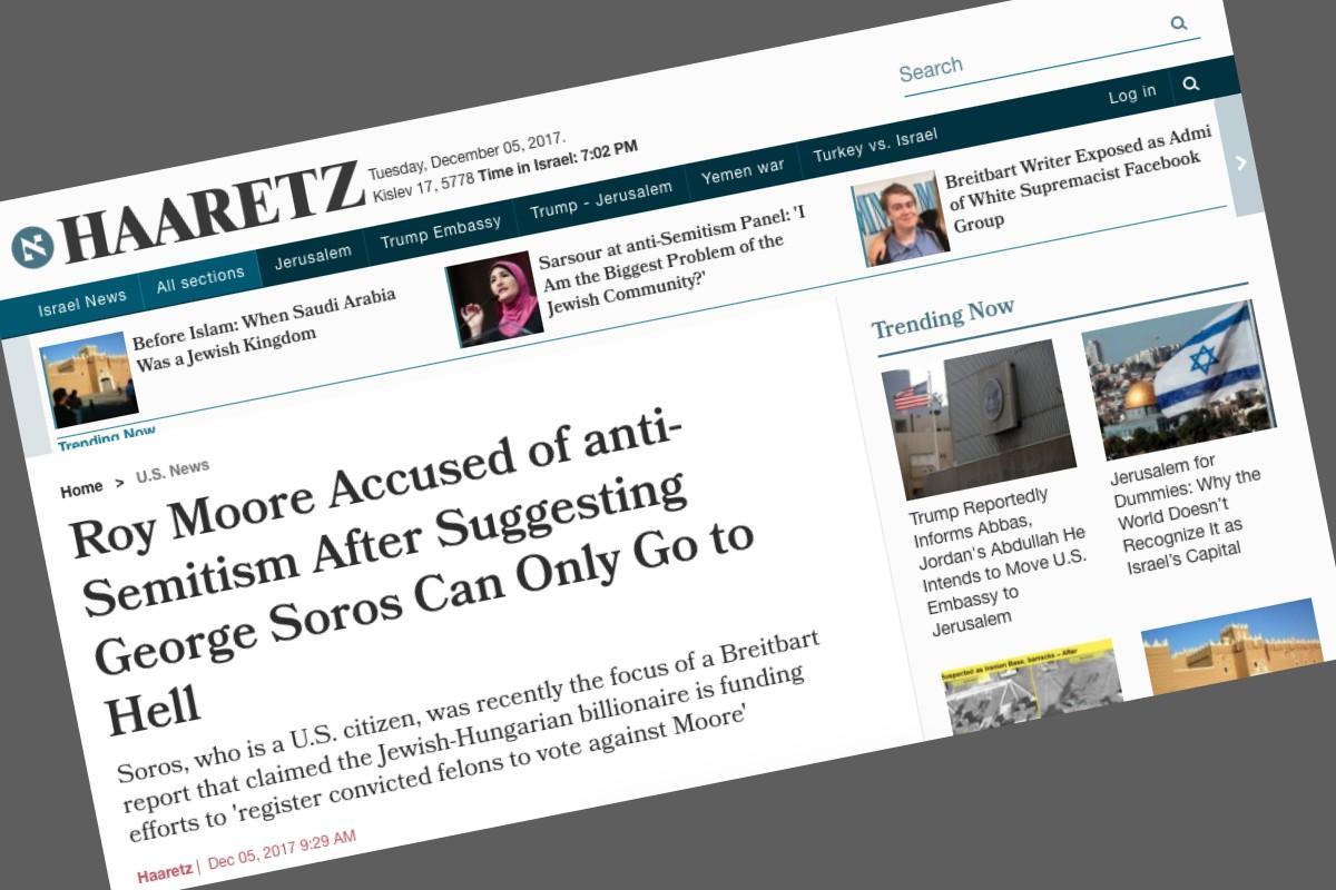 Képernyőfotó: haaretz.com