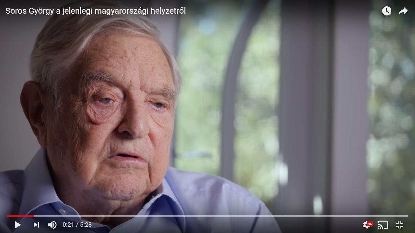 Képernyőfotó: Open Society Foundations Youtube-videója