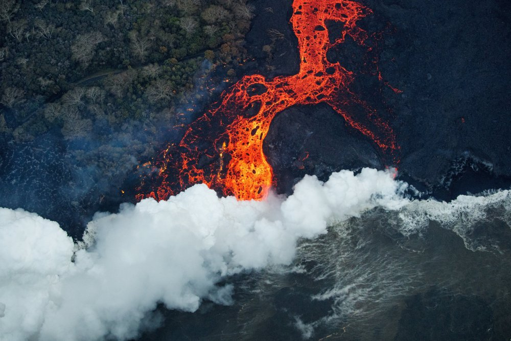 Fotó: MTI/EPA/Paradise Helicopters/Bruce Omori