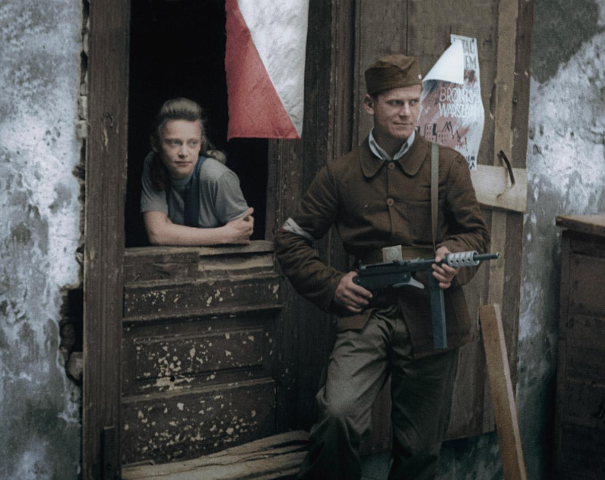 Kép a Varsói felkelés című filmből