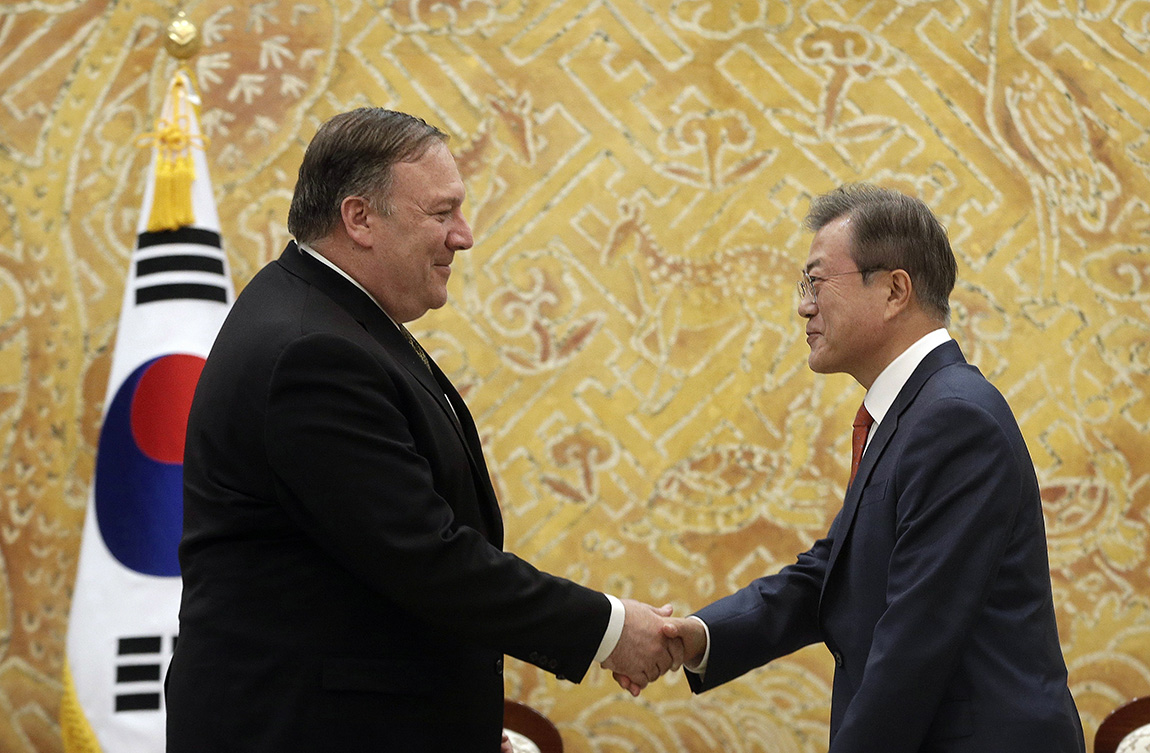 Fotó: MTI/EPA/Ahn Jung Dzsun