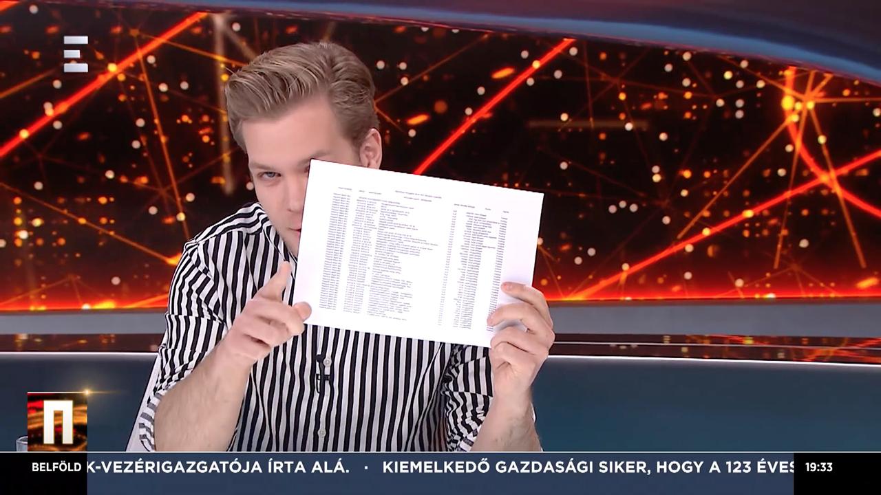 Képernyőfotó: Echo TV