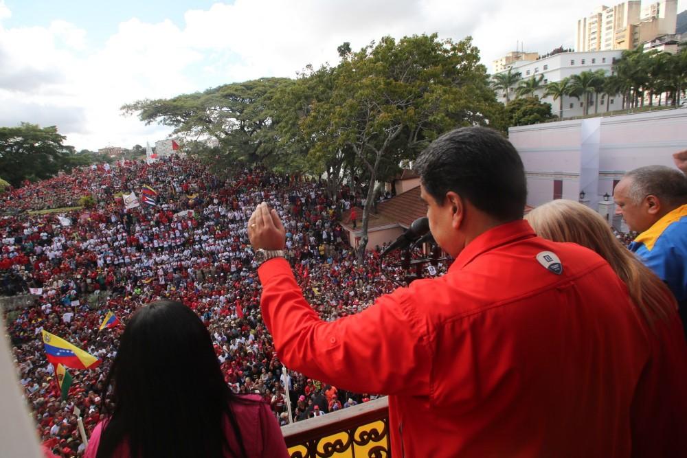 Fotó: MTI/EPA/EFE/Miraflores Elnöki Sajtóiroda/Marcelo Garcia