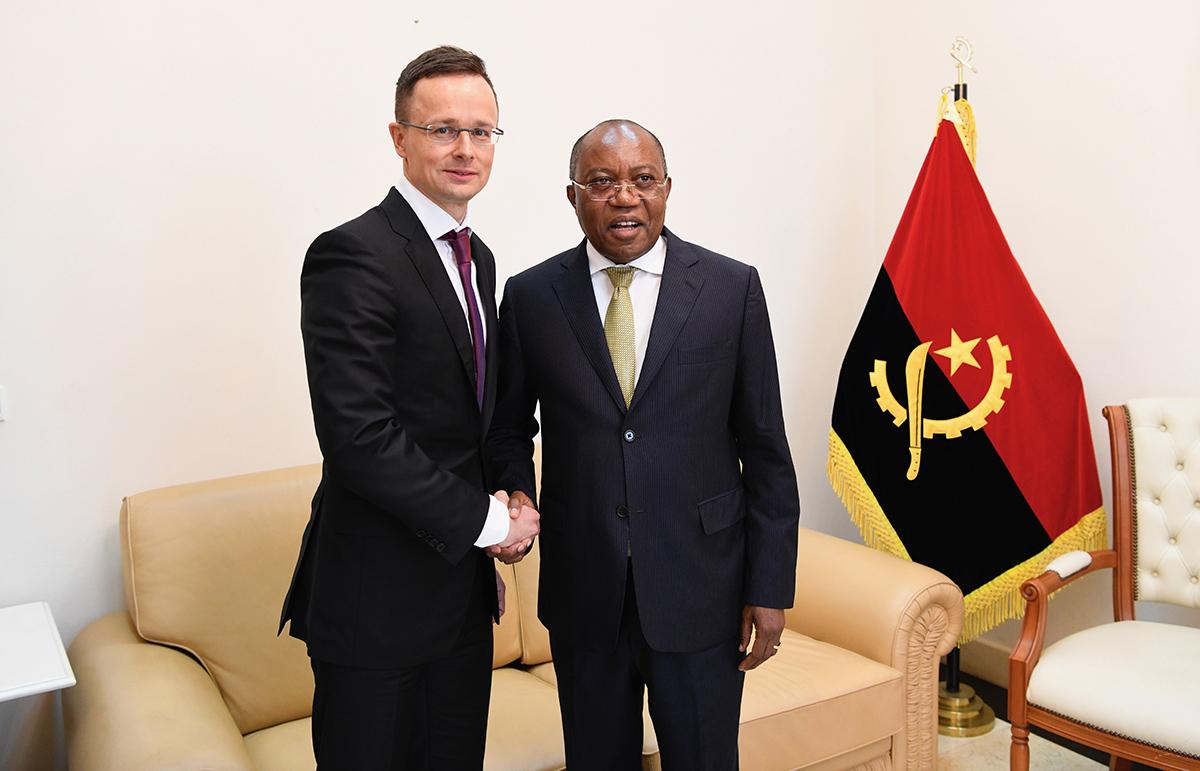 Együttműködési megállapodást írt alá az angolai és a magyar belügyminiszter