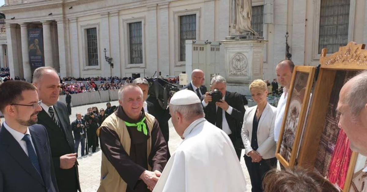 Ferenc pápánál járt Böjte atya és azt kérte, legyen egyházi ünnepnap a gyereknap