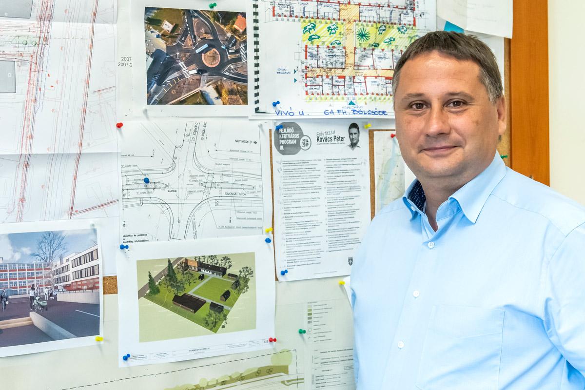 A 2020-as tervekről Kovács Péter polgármesterrel