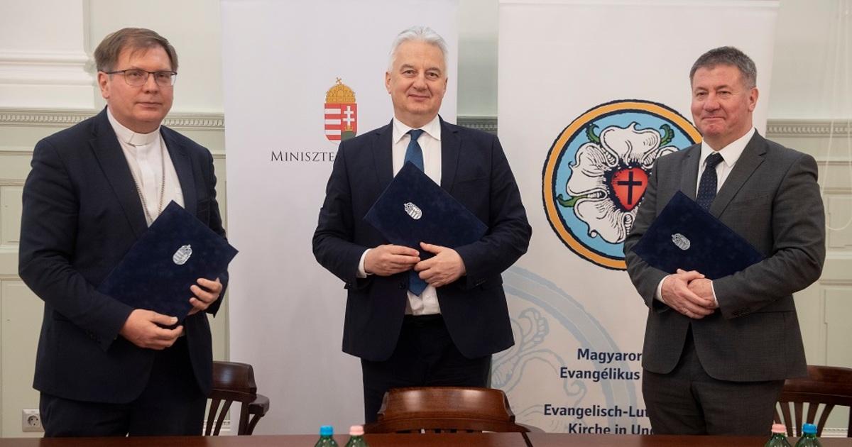 Megállapodást kötött a kormány és az evangélikus egyház