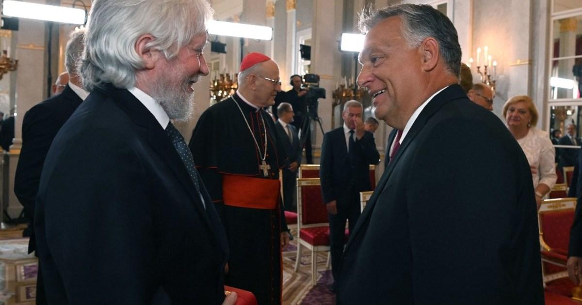Szemerédi Endre kapta a Szent István-rend kitüntetést