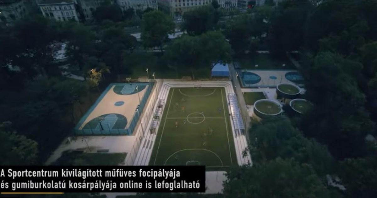 Átadták Budapest legsokoldalúbb sportcentrumát a Városligetben | Demokrata