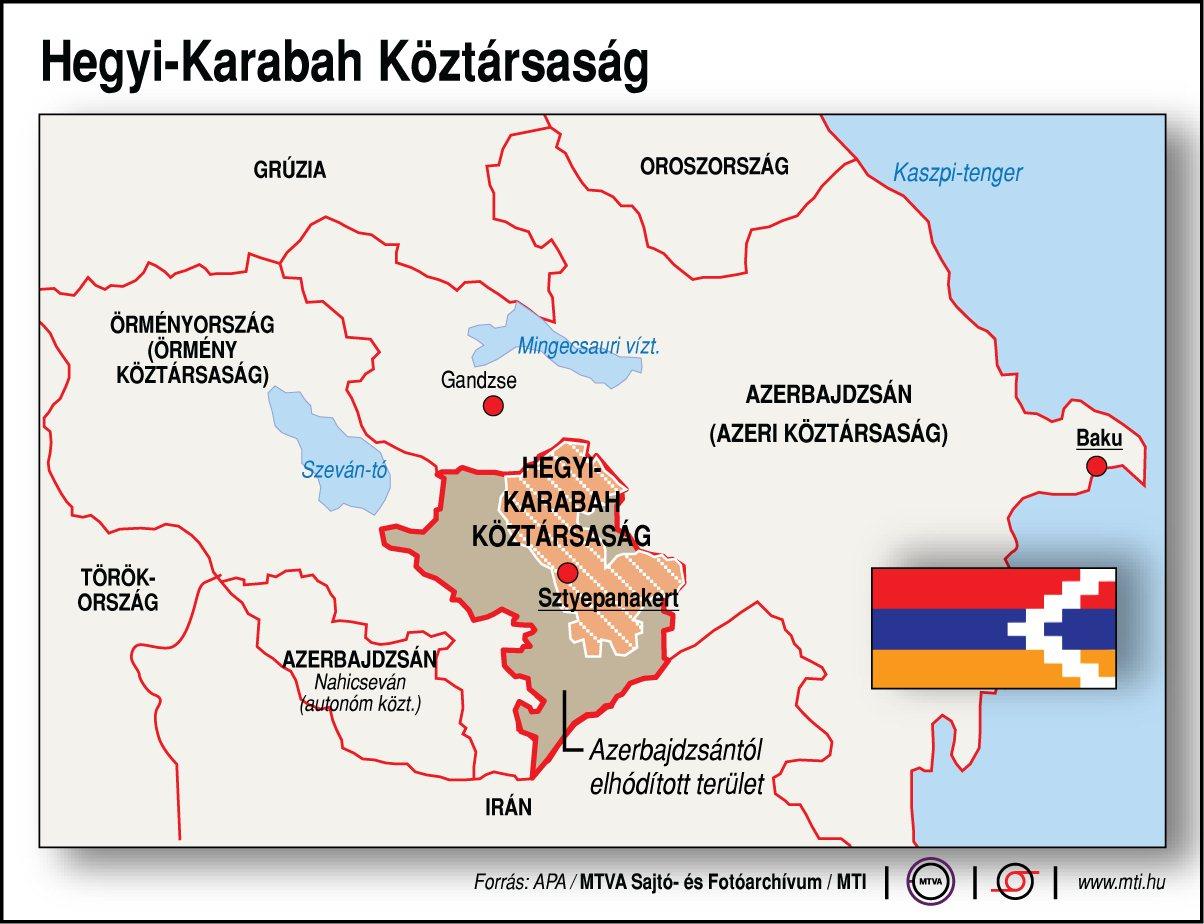 Továbbra is harcoktól hangos Hegyi-Karabah