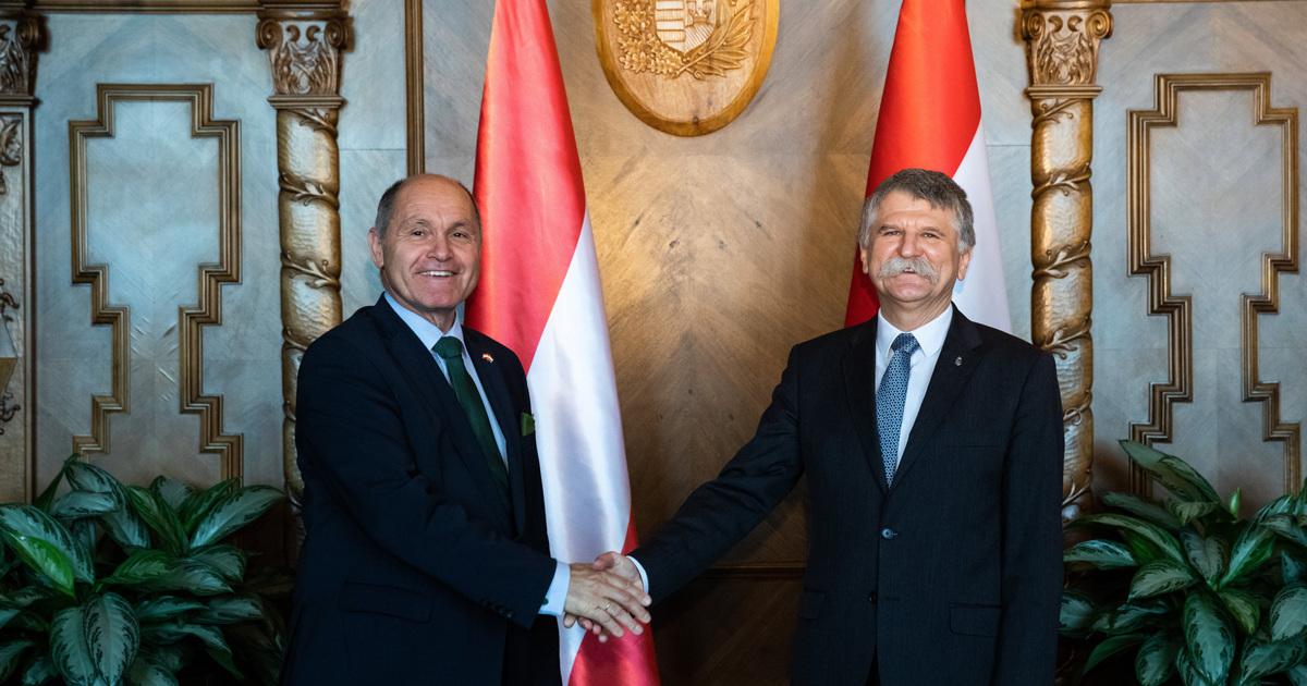 Kövér László fogadta az osztrák törvényhozás elnökét   Demokrata