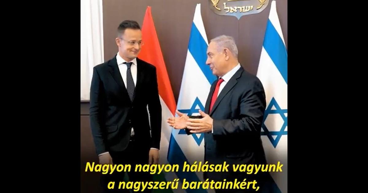 Szijjártó Péter: Magyarország kiáll Izrael mellett   Demokrata